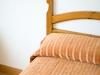 Hotel Miramar Habitacion vistas doble detall-llit-marron