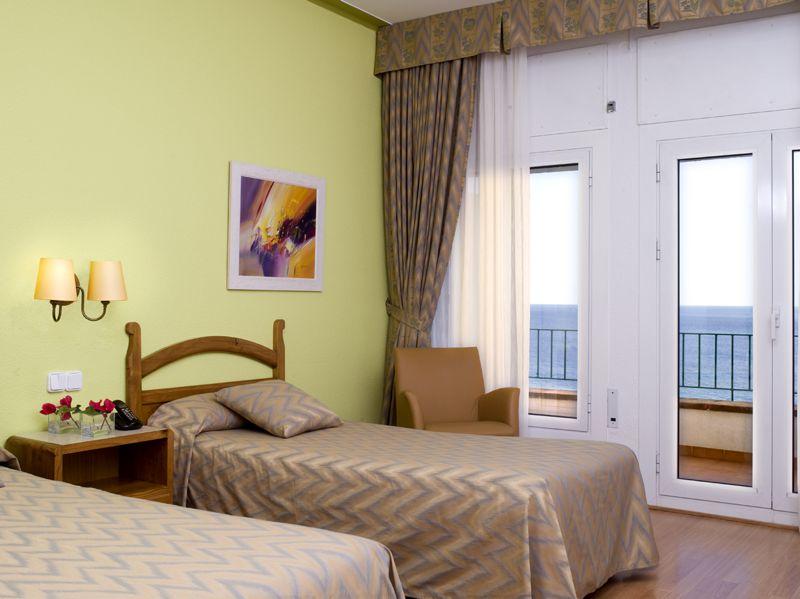 2 camas terraza